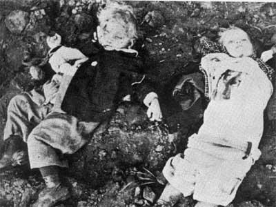 Még csak rá sem lehet fogni, hogy eltévesztették a célt: a polgári lakosságra szórták a halált.